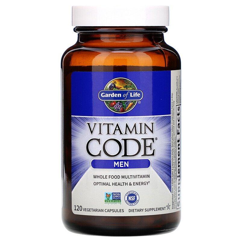 Витаминный комплекс для мужчин Vitamin Code Men, 120 капс.