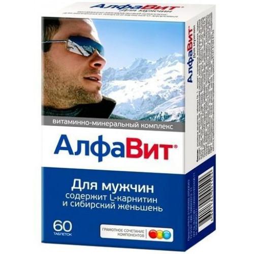АлфаВит для мужчин, 60 шт.