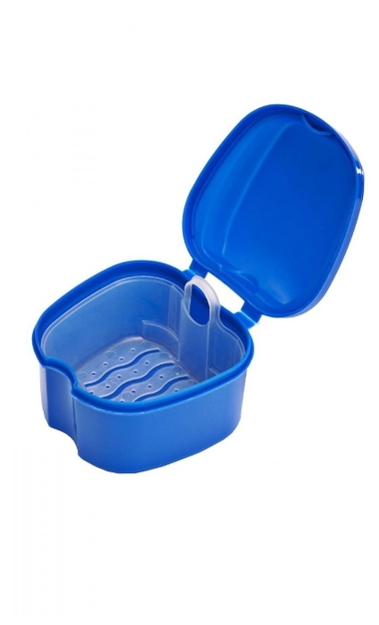 BRADEX контейнер для съемных протезов Мои зубки
