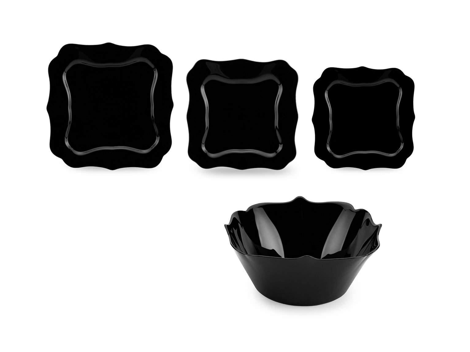 Luminarc Authentic Black 19 предметов