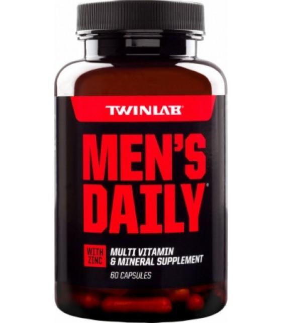 Twinlab Men's Daily, 60 капс.