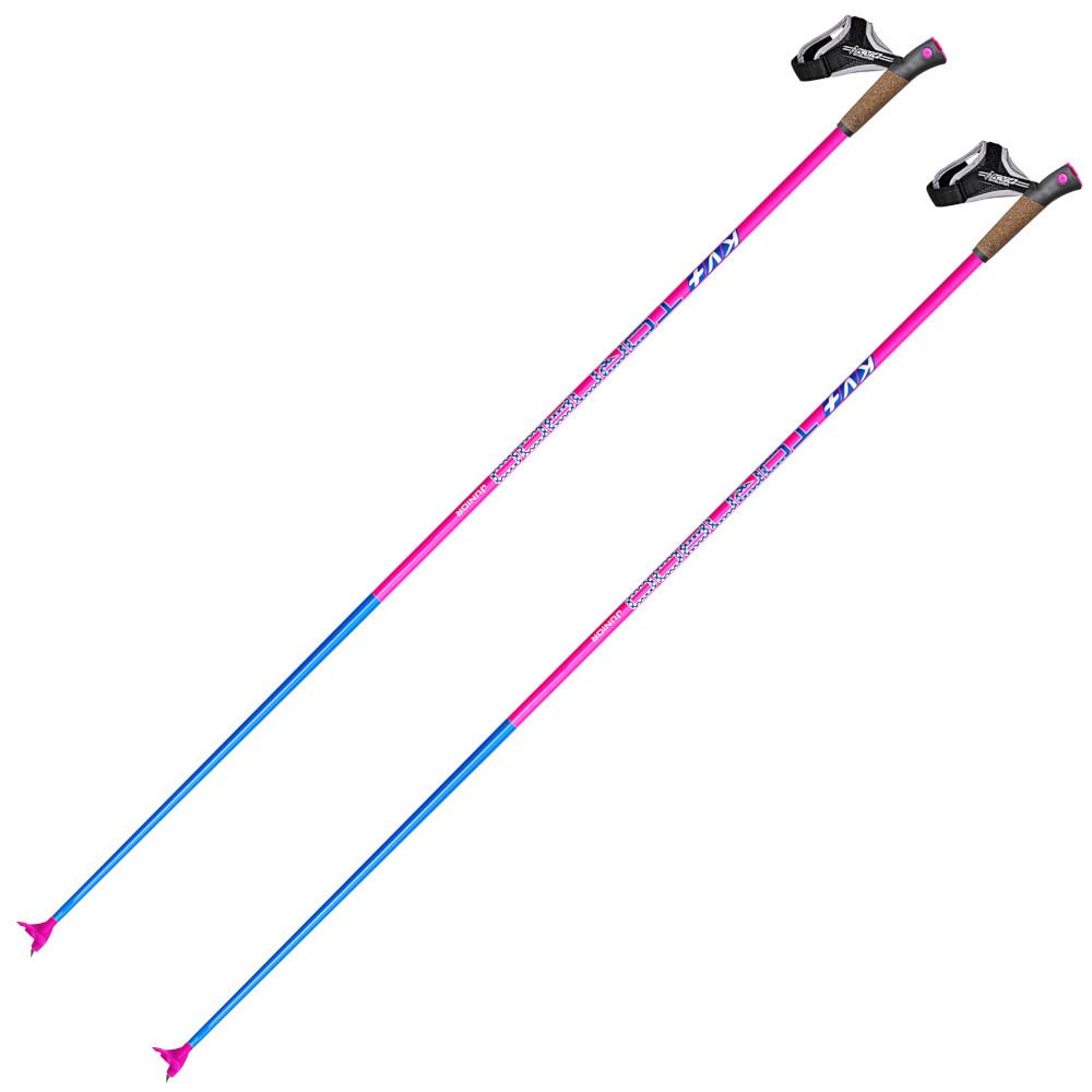 Лыжные палки KV+ Tempesta Clip Pink Cross Country Pole