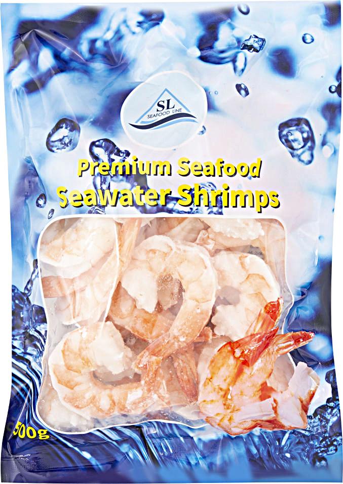 Seafood, варено-мороженые, очищенные