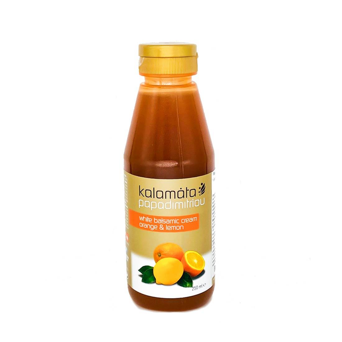 Papadimitriou с соком лимона и апельсина
