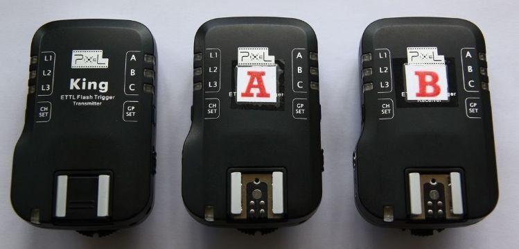 PIXEL King Wireless TTL Flash Trigger Set