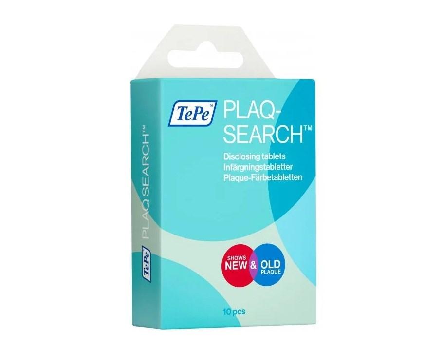 TePe таблетки TePe Plaq-Search для индикации зубного налета, 10 шт.