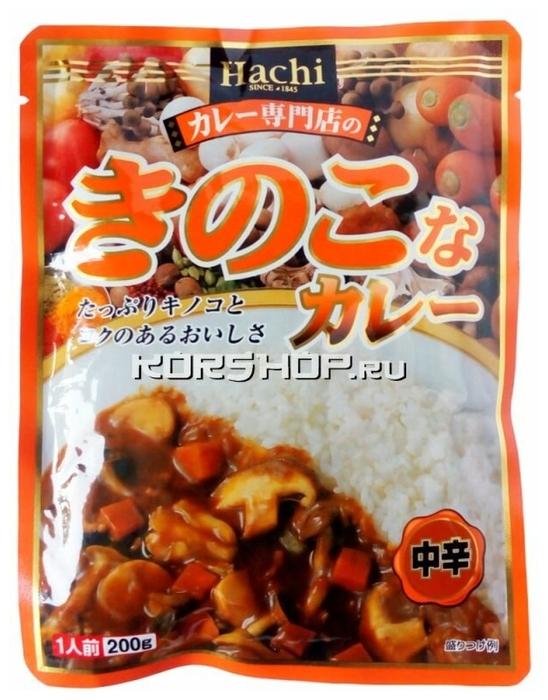 HachiShokushin с грибами