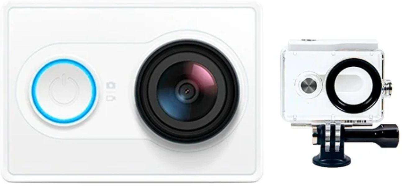 YI Action Camera + Waterproof Case