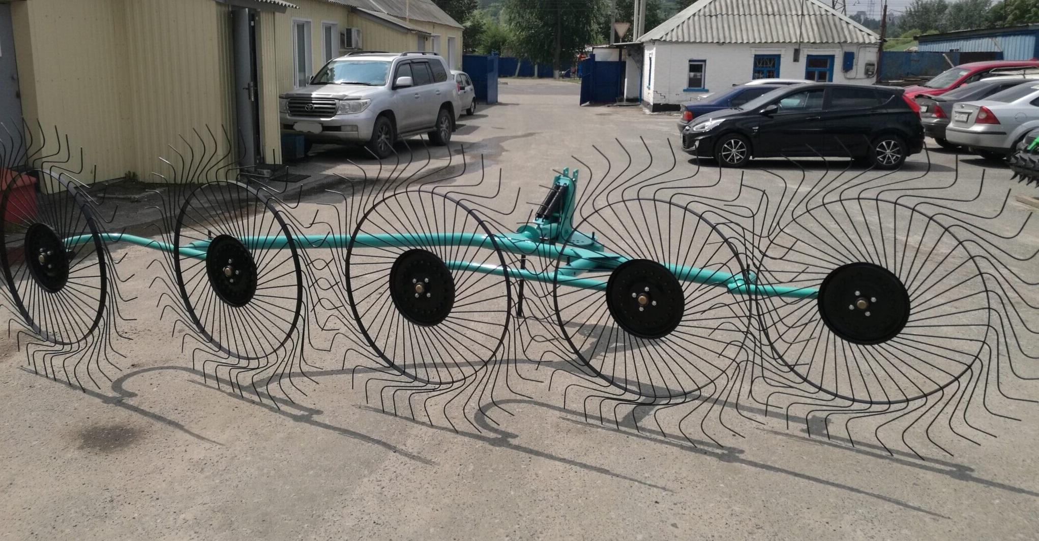 Грабли-ворошилки OGR 5-колесные