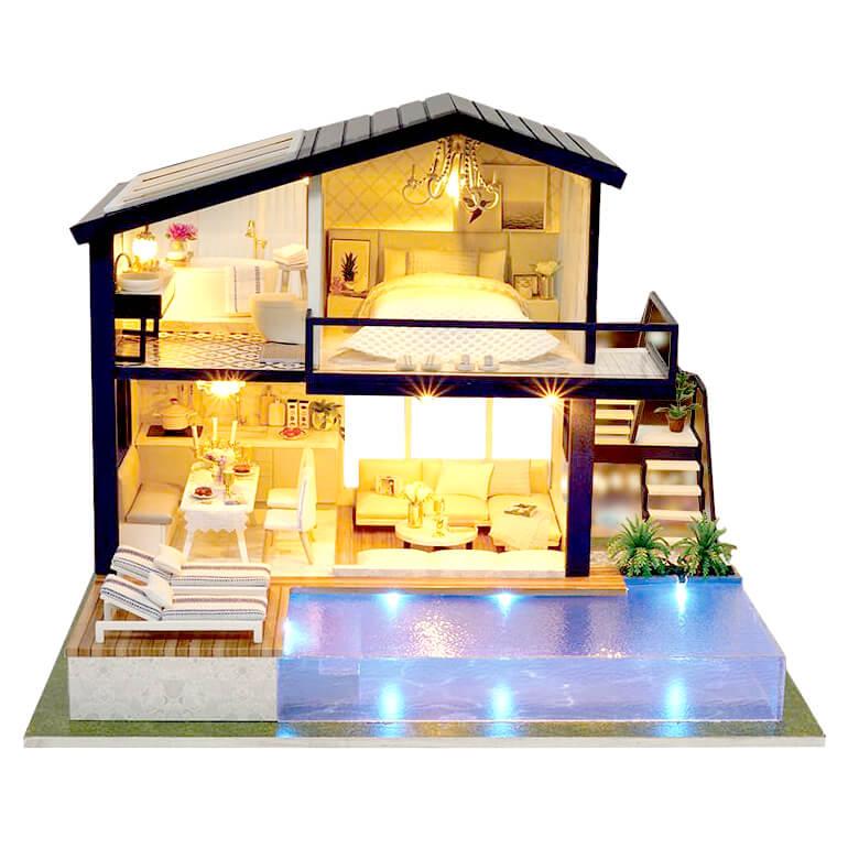 Сборная модель «Вилла с бассейном», РУМ-012