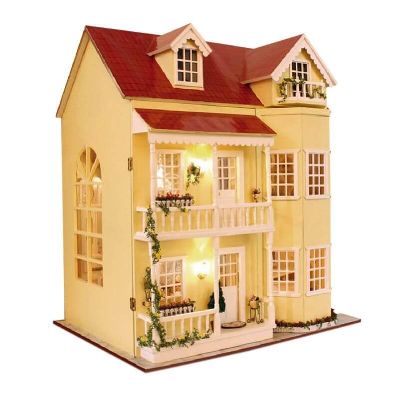 «Большой дом с открывающимися стенками» 48* 38*35см, Dly mini aturedoll house