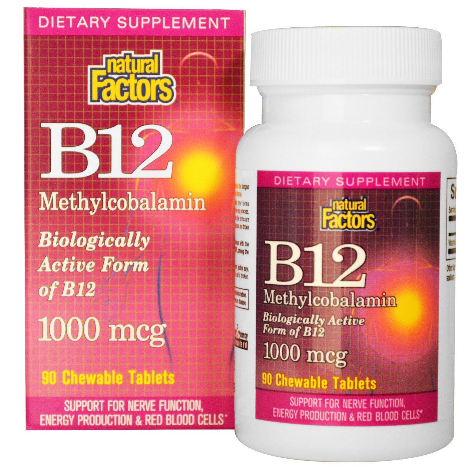 Natural Factors, B12