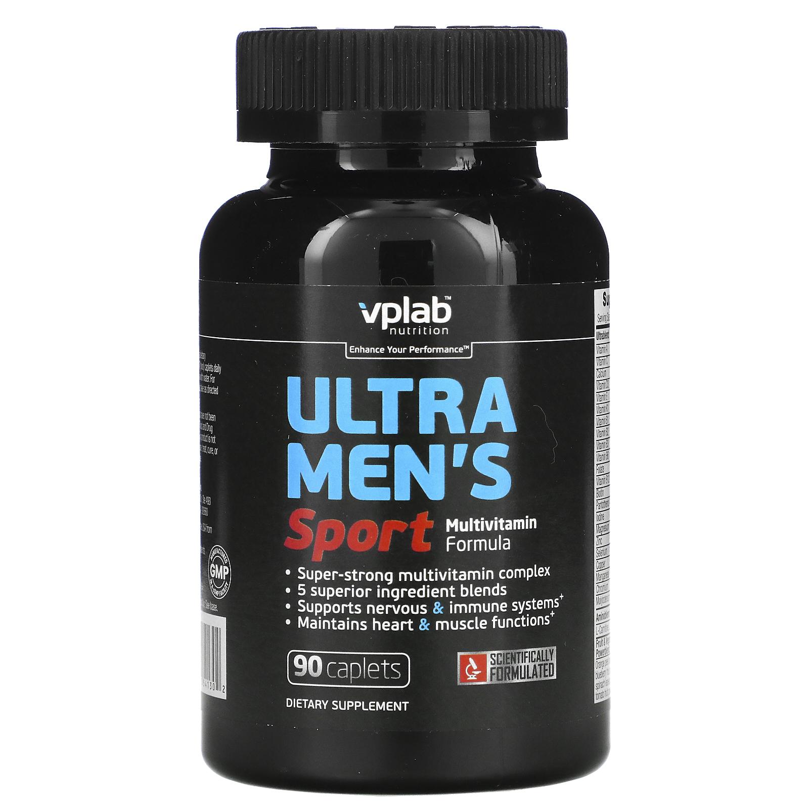 VPlab Nutrition «Ultra Men`s Sport Multivitamin Formula»