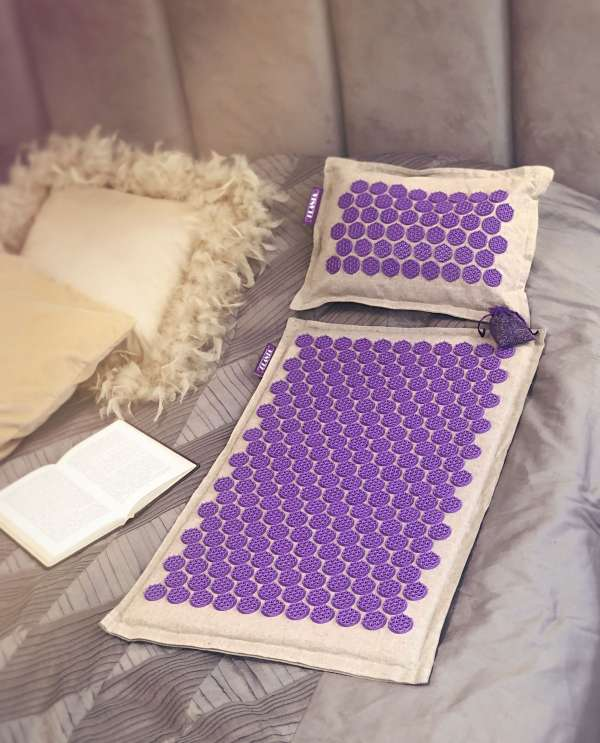 lanta коврик с подушкой и лавандовым саше SENSE PS-SET1