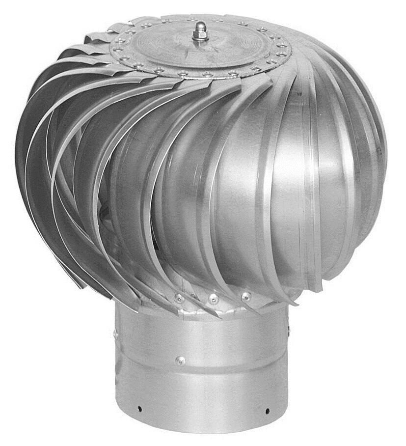 Турбодефлектор металлический оцинкованный, D 100 мм Эра