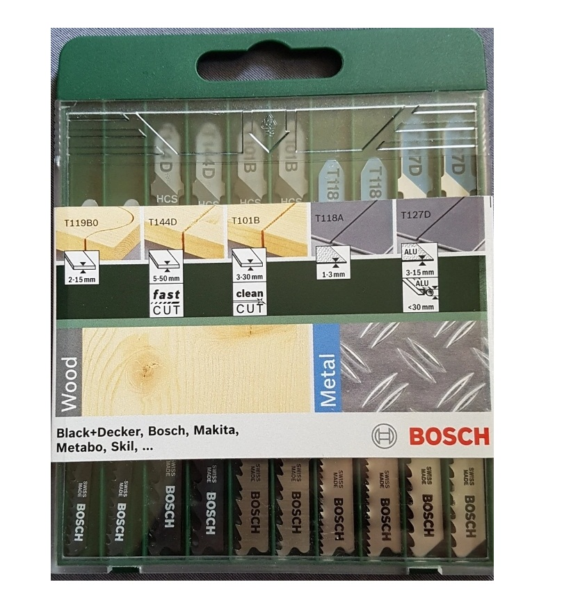 Набор «Bosch» Mixed Wood and Metall 2609256746