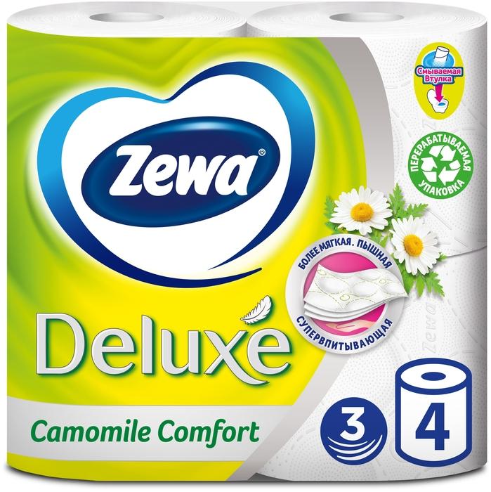 ZEWA Deluxe, ромашка