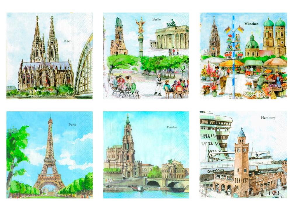 Love2Art «Города Европы»