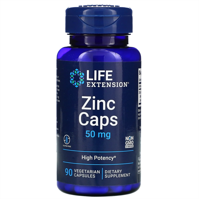 Life Extension Zinc Caps