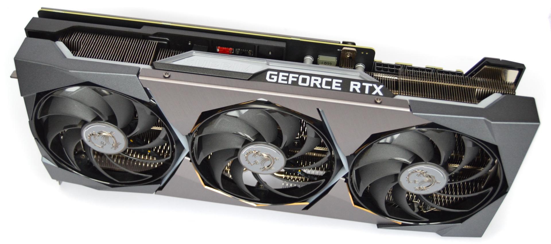 MSI GeForce RTX 3080 Suprim X